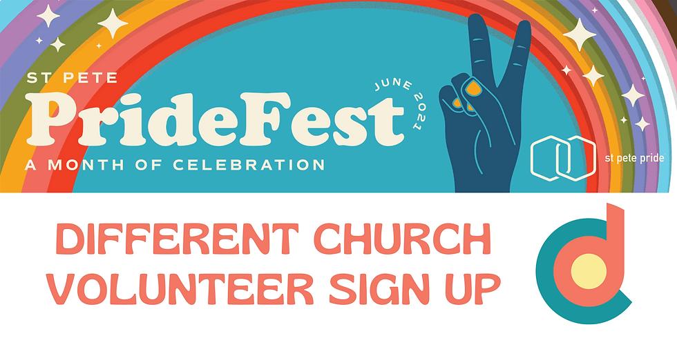 Volunteer at PrideFest: We Are Family