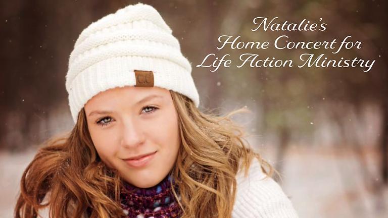 Natalie on Life's Mission Home Concert