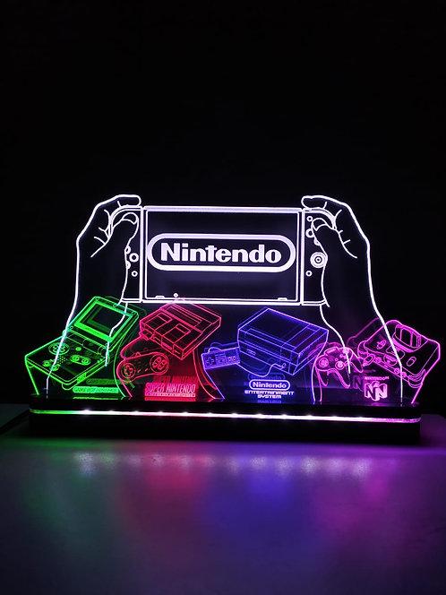Luminária NINTENDO Consoles