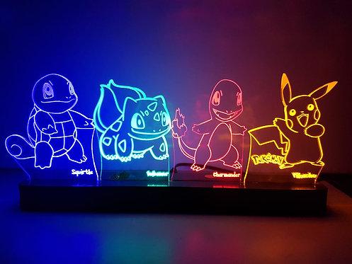 Luminária Pokemon 25cm