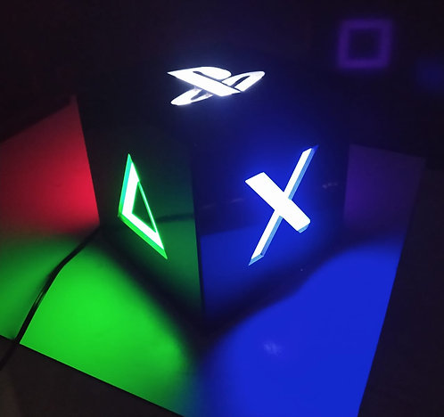 Luminária BOX PLAYSTATION