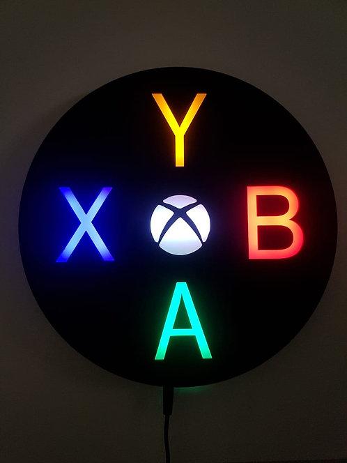 Luminária de parede XBOX