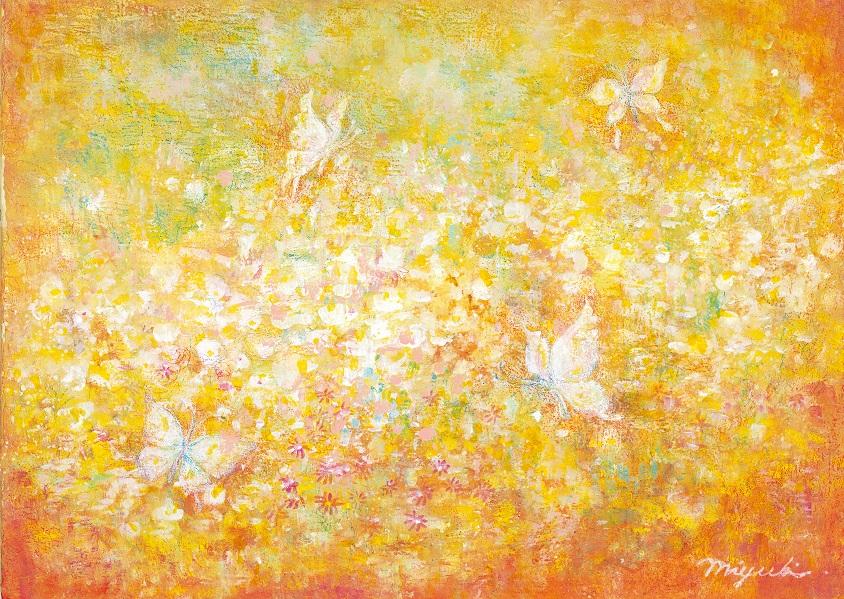 花まり蝶々(3月)