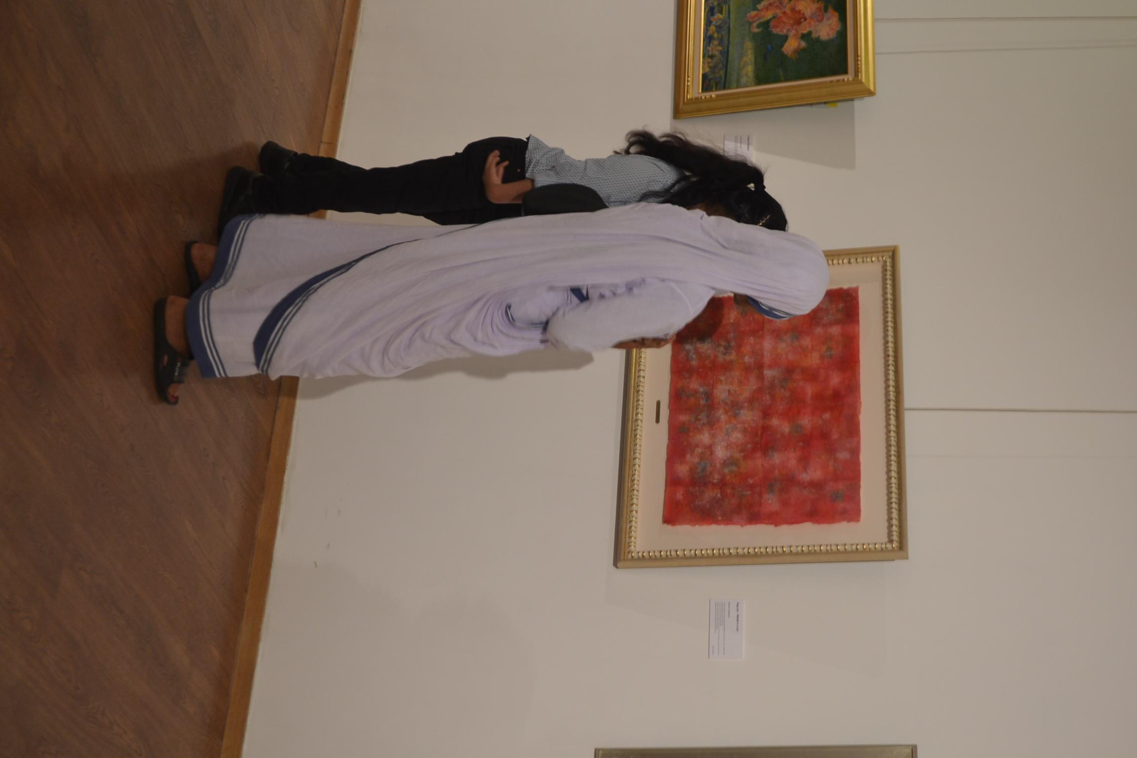 第25回国際平和美術展にて