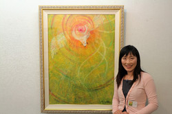 第22回日本の美術受賞作家展にて