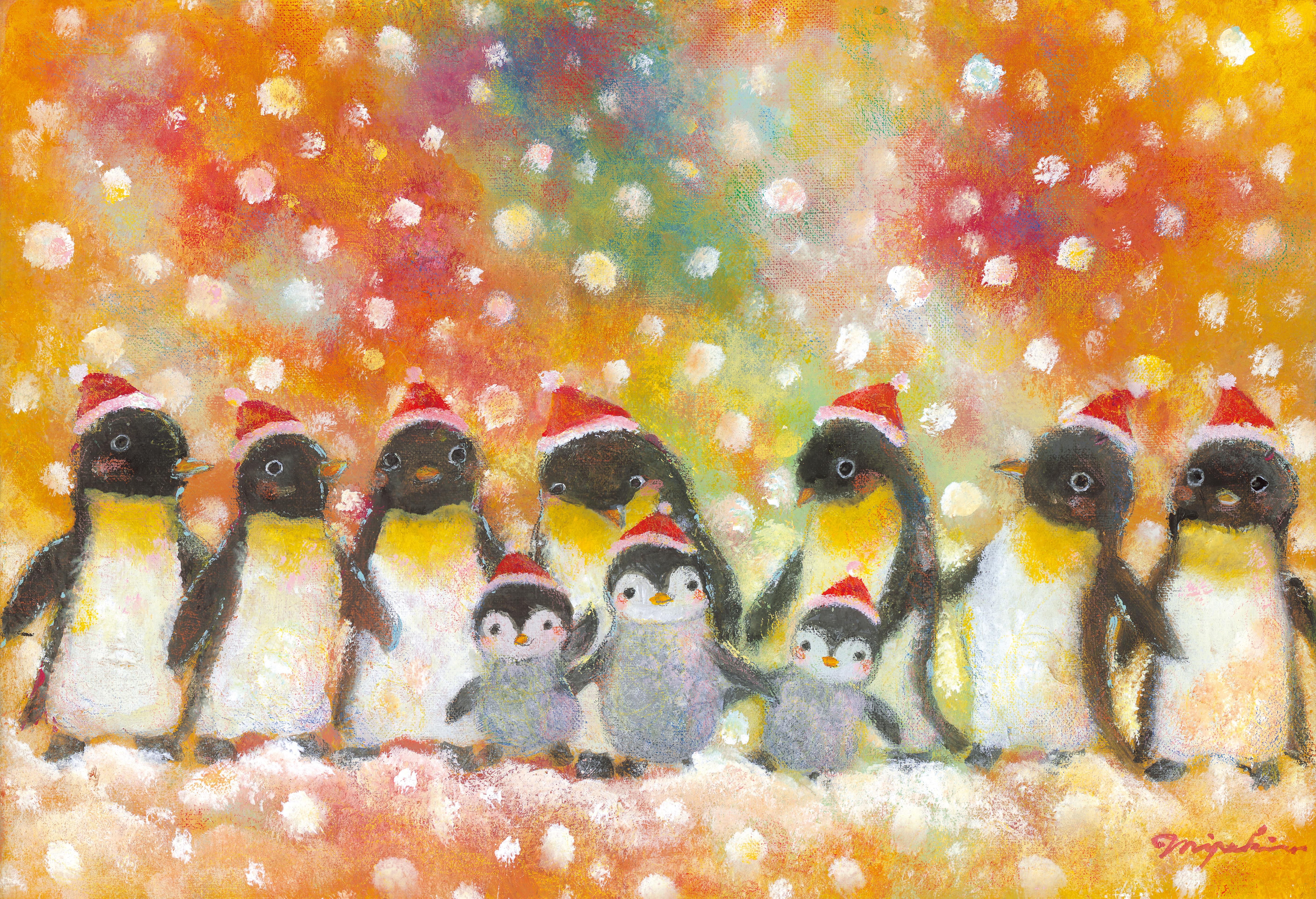 にじいろペンギン(12月)