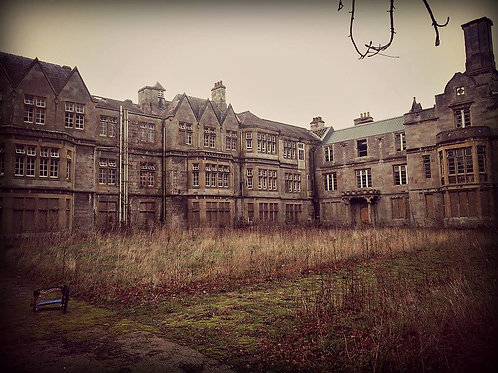 Abandoned Insane Asylum Dirt
