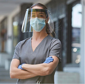 ZShield Nurse Standing Strong Face Shiel