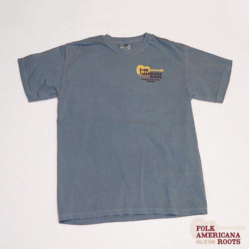 Mens Garment Dye T-Shirt Blue