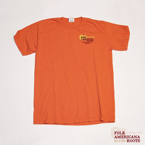 Mens Garment Dye T-Shirt Terracotta