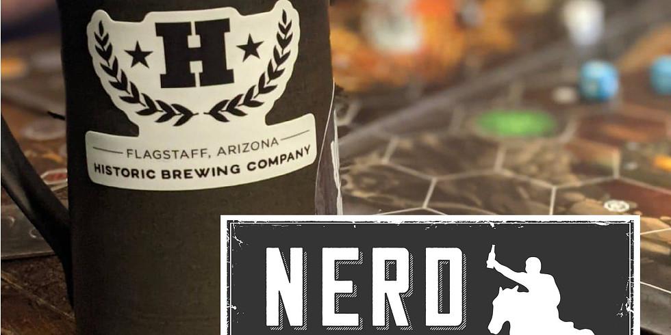 Nerd Night at  Historic Barrel + Bottle House