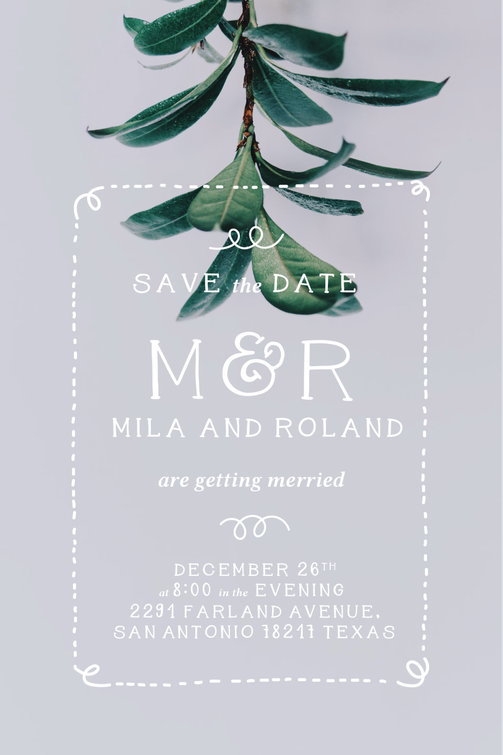 Mila and Roland free font presentation image