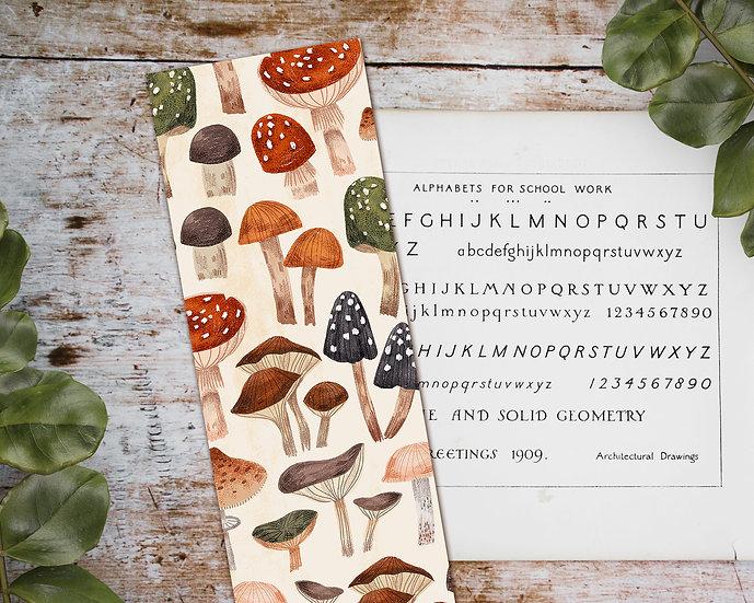 Mushrooms Bookmark