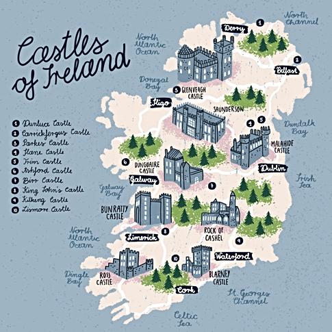 Casles of Ireland
