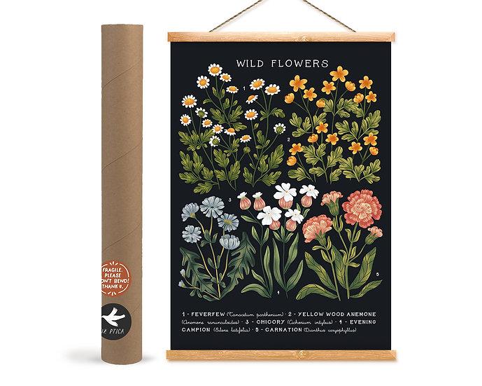 Wild Flowers № 03 ~ black