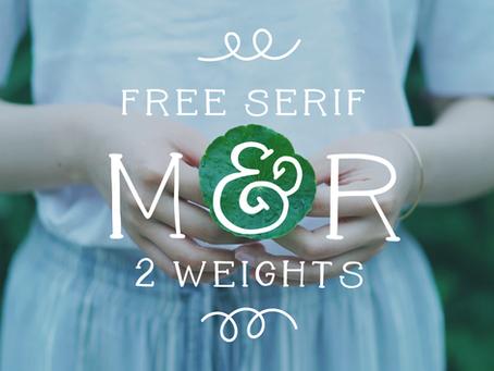 Mila & Roland - free font
