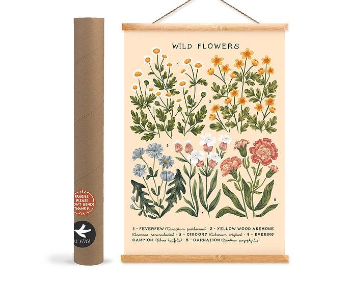 Wild Flowers № 03 ~ white