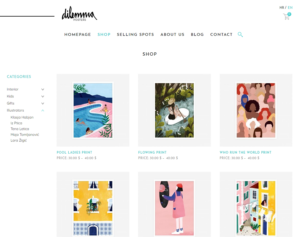 dilemma homepage