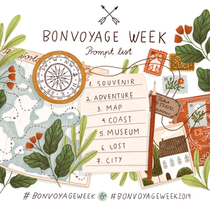 Bon Voyage Week 2019 Prompt List