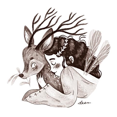 Inktober 2019 ~ Deer