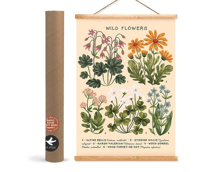 Wild Flowers № 04 ~ white