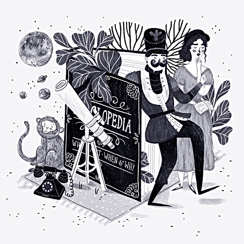 Alphabetaria - E is for Encyclopedia