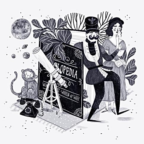 Alphabetaria - E is for Encyclopedia
