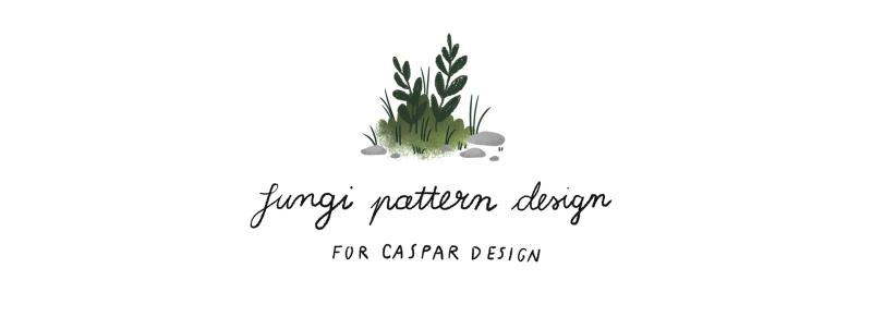 fungi pattern for Caspar Design