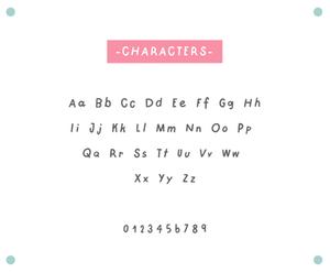 maper free font presentation image