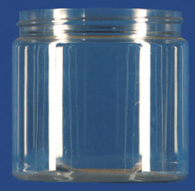 16 oz. Clear Jar