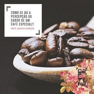 Como se dá a percepção do sabor de um café Especial?