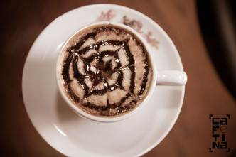 Receita: Cappuccino de Chocolate