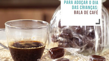 Receita de bala de café