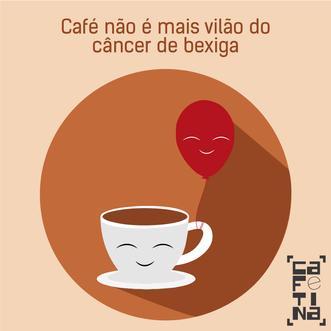 Café não é mais vilão do câncer de bexiga, segundo OMS