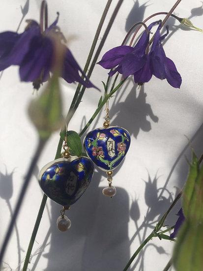 'Wealth' pendant earrings