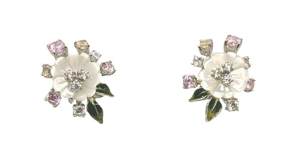 Small flower earrings BELLEZZA