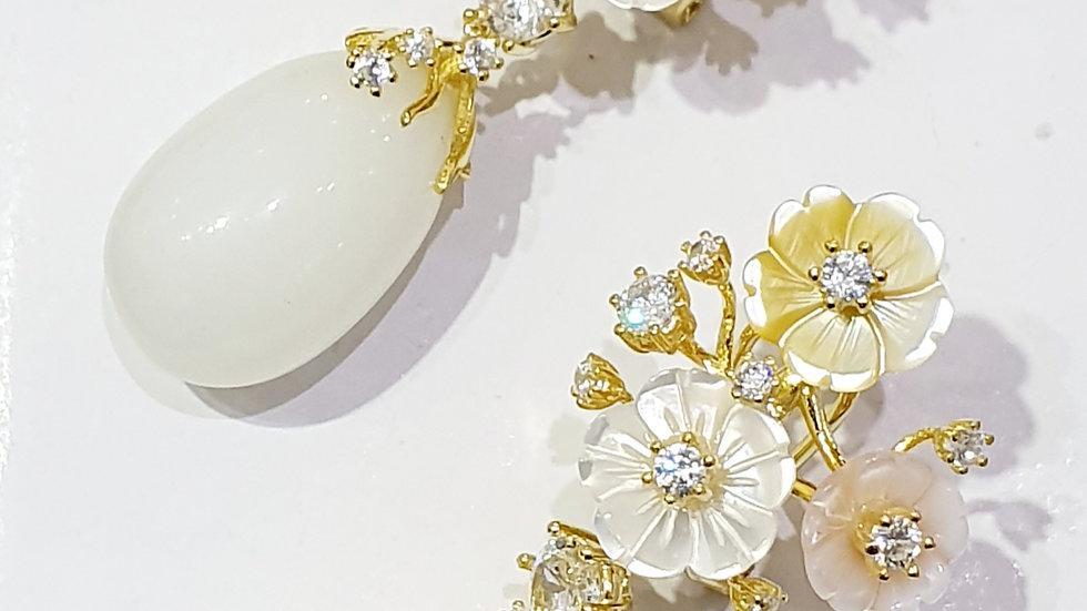 Bellezza Italian drop earrings