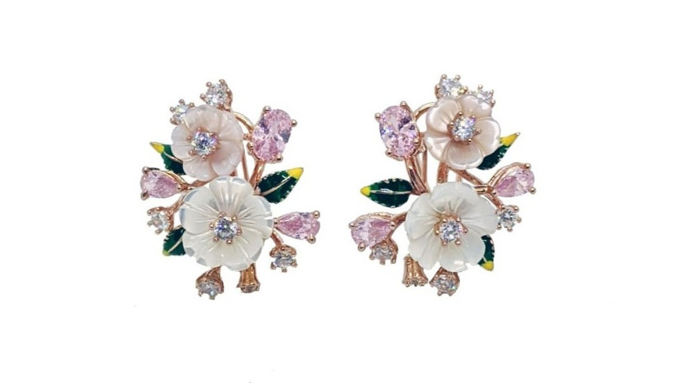 Bellezza flower earrings