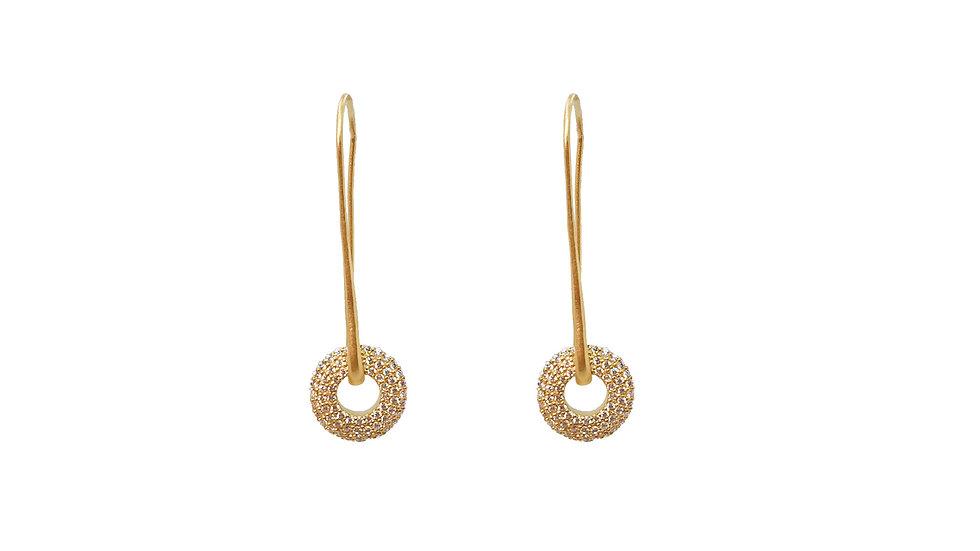 Italian Wish drop earrings