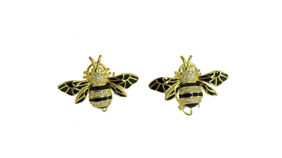 Bellezza bee earrings
