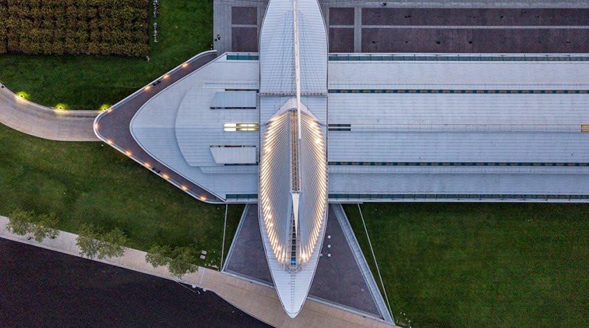Over Milwaukee Art Museum - Randy Scherkenbach