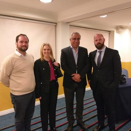 Visita del Profesor Joseph Cannataci a la Argentina