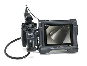 Bore scope video inspection