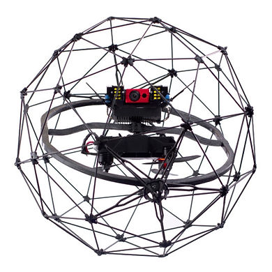 Elios by Flyability. Intenal inspection drone used for tanks, ractors, vessels and other confined spaces