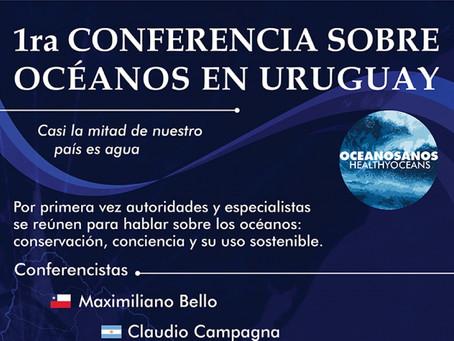 Se viene la 1era conferencia internacional de océanos en Uruguay