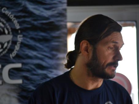 """Rodrigo García de Org.Conservación Cetáceos: """"el objetivo es empezar a pescar en forma sostenible"""""""