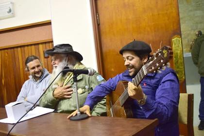La Junta Departamental y OCC homenajearon a Dante Roibal, primer guardaparque de Uruguay