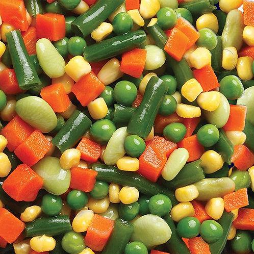 Veggie Mix 5 Ways Grade-A 2.5 LBS