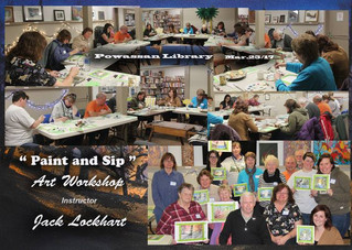 Paint N'Sip with Jack Lockhart - March 25