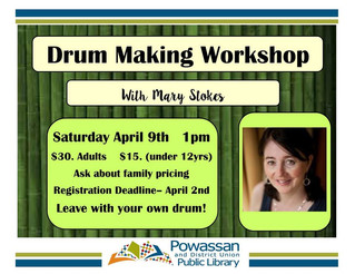 Drum Making Workshop with Mary Stokes